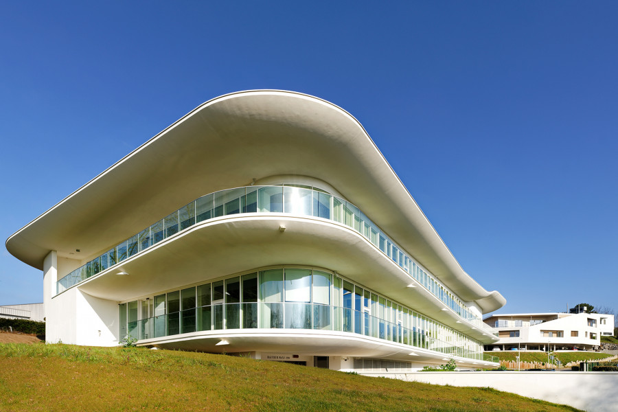 Photographies d'architecture du Campus Estia Berri à Bidart