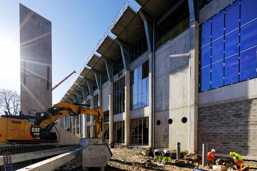 Suivi de chantier du stade Jean Dauger à Bayonne