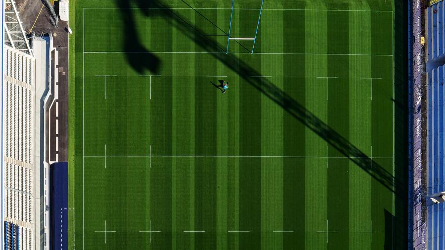 Suivi de chantier par drone du stade Jean Dauger à Bayonne