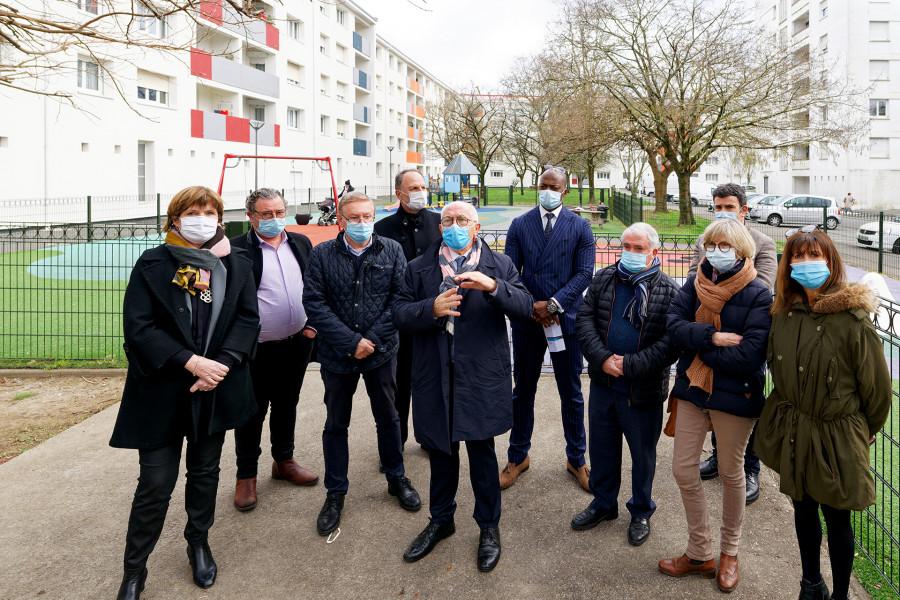 Visite de chantier de la Résidence Balichon à Bayonne