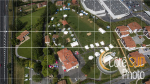 Photographies Aériennes du Centre de séjour permanent Domaine de Camieta à Urrugne