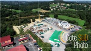 Photographie aérienne de la société ACBL