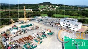 Photographie aérienne de la société Toffolo